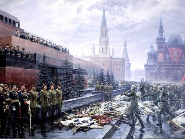 24 июня 1945 года состоялся первый Парад Победы