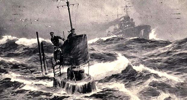 Немецкие субмарины