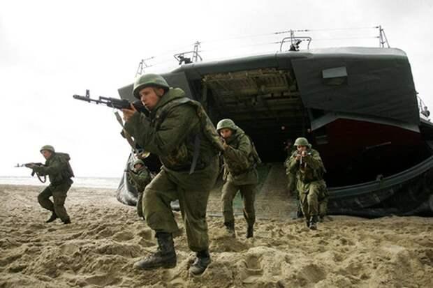 Украинский адмирал назвал три региона, где Россия «высадит десант»