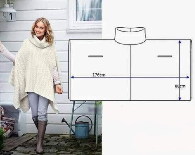 Простые идеи для шитья, или Как легко украсить себя осенью. Часть 3, фото № 16