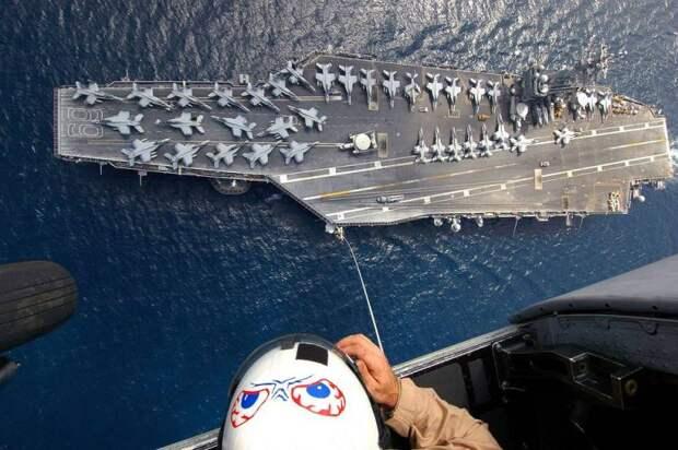 Авианосная группа ВМС США направилась к берегам Сирии