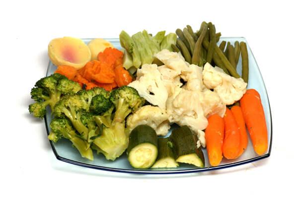 Вместо варки готовим на пару: все витамины остаются внутри еды