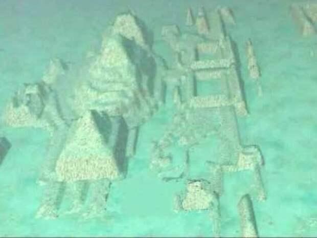 Под грифом секретно: гигантские пирамиды на дне Бермудского треугольника