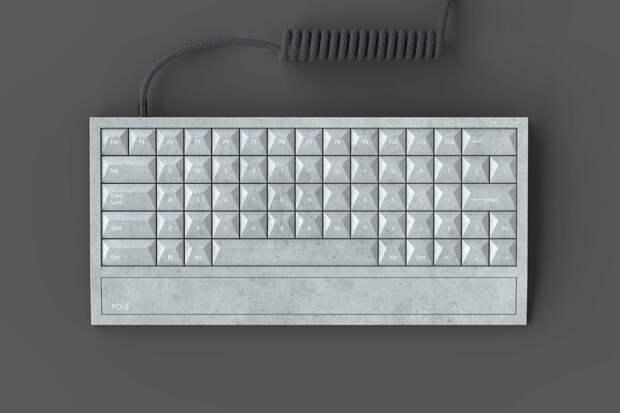 Дизайн на века. Дизайнер Денис Долганов опубликовал эскиз клавиатуры на основе знаменитого забора ПО-2. Фото: strelkamag.com