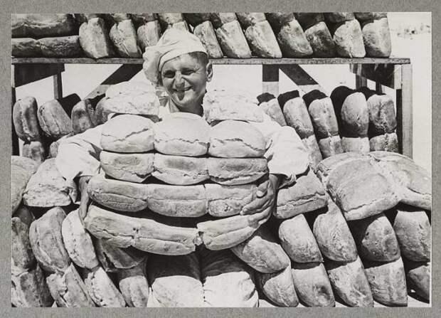Советский хлеб действительно был лучше. /Фото: waralbum.ru.