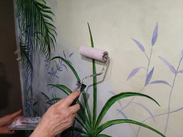 Шубку для варила лучше купить новую, чтобы не испортить роспись. Фото автора