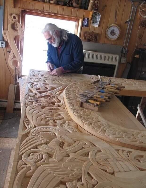 Как такую красоту создает дедушка, по имени Филл, в свои 90 лет,  восхитительно!