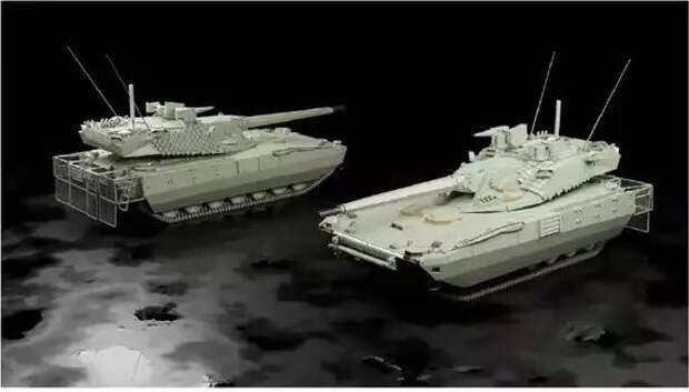 Проекты американских беспилотных танков