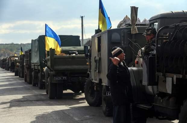 Путин обвинил Украину в стягивании войск на Донбасс