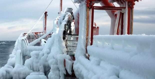 Ледяной шторм начнется в Азовском море в ближайшее время