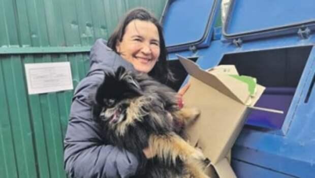 Писательница из Бибирева: дома для мусора завели три мешка