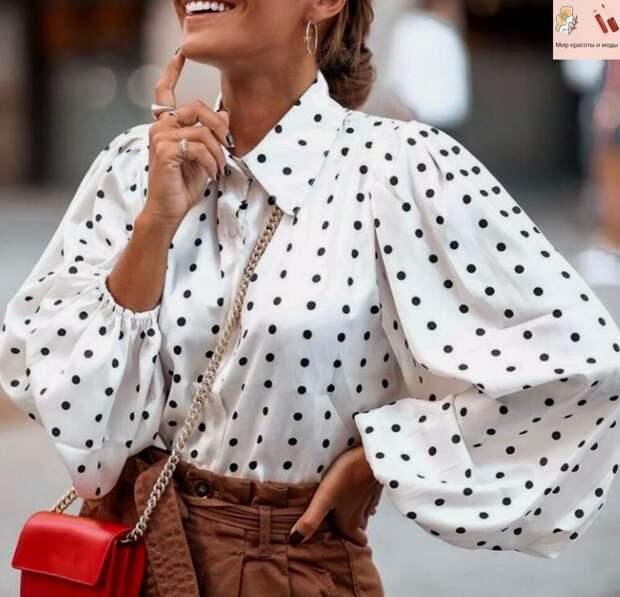 Прелестные, грациозные и нежные блузы на сезон великолепной и стильной весны 2021: элегантные модели!