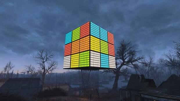 Здоровенный кубик Рубика