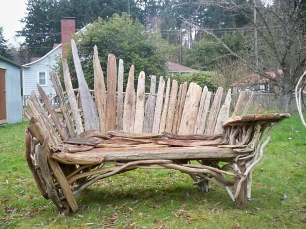 Деревянный пэчворк