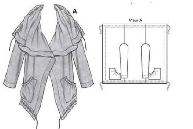 Простые идеи для шитья, или Как легко украсить себя осенью. Часть 3, фото № 17
