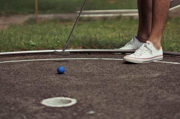 Соревнования по мини-гольфу пройдут на Бажова