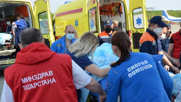 Врач рассказал о состоянии пострадавших детей при стрельбе в Казани