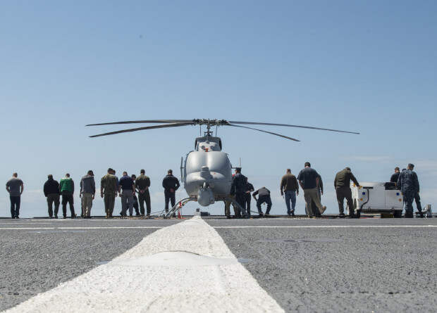 ВМС США приняли беспилотник Fire Scout на вооружение