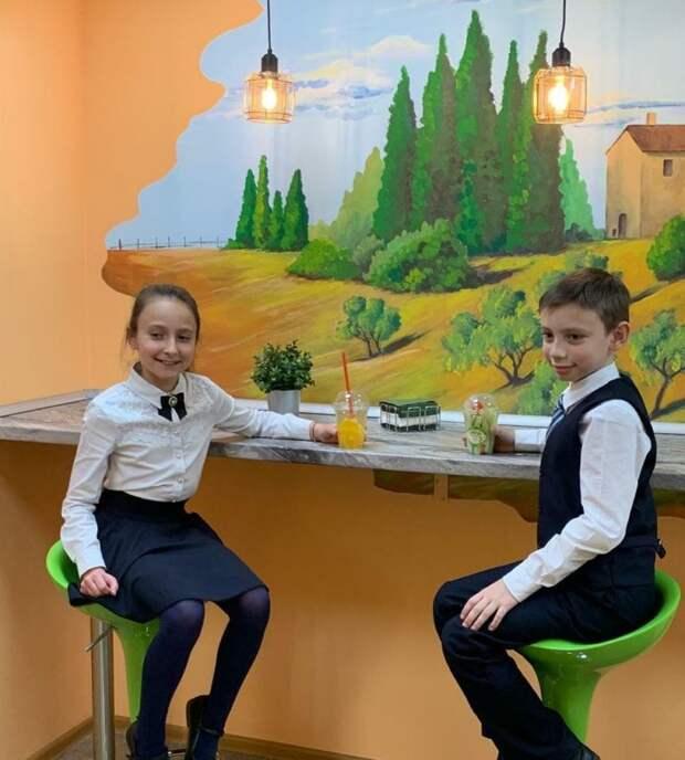 Маленькая Италия в московской школе