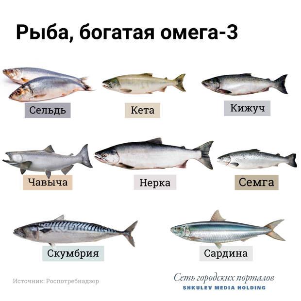 А эту рыбу стоит включить в свой рацион