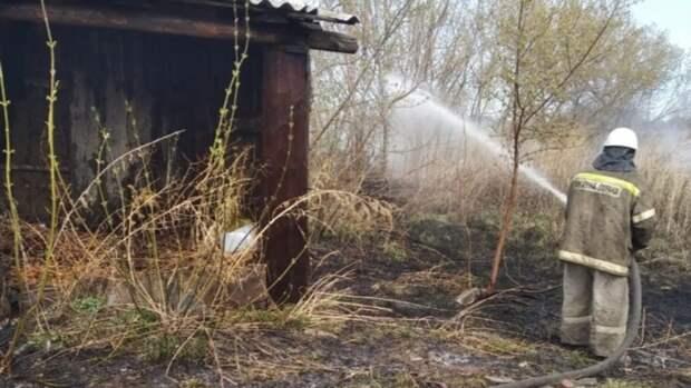 Более 130 пожаров потушили за сутки в Алтайском крае