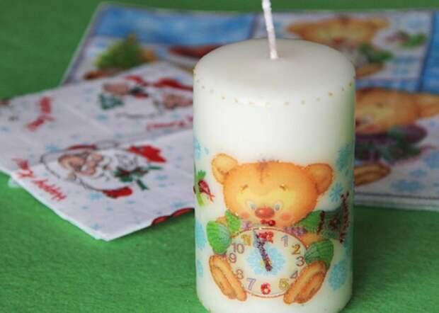 Декор свечей своими руками: модные варианты антуража для разных праздников (29 фото)