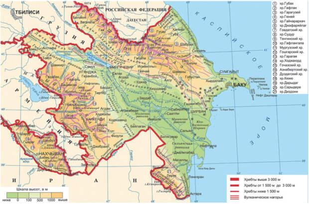 Алиев сообщил опланах возврата Азербайджану южной части Армении