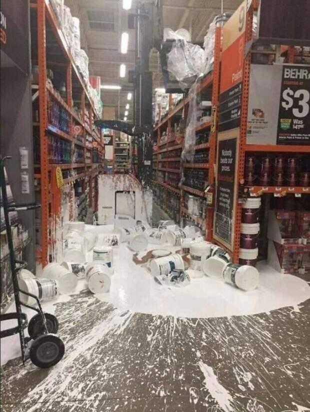У нас, кажется, проблемы на складе