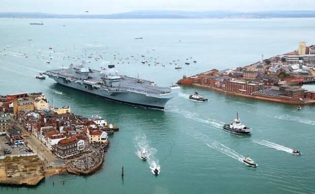 Флот Британии утонул в истории