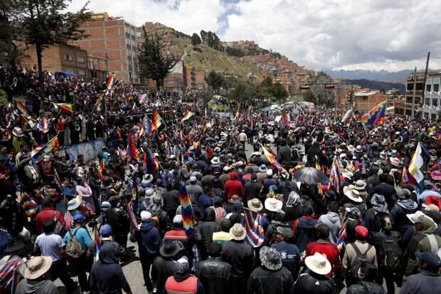 Боливия и никем не избранное правительство
