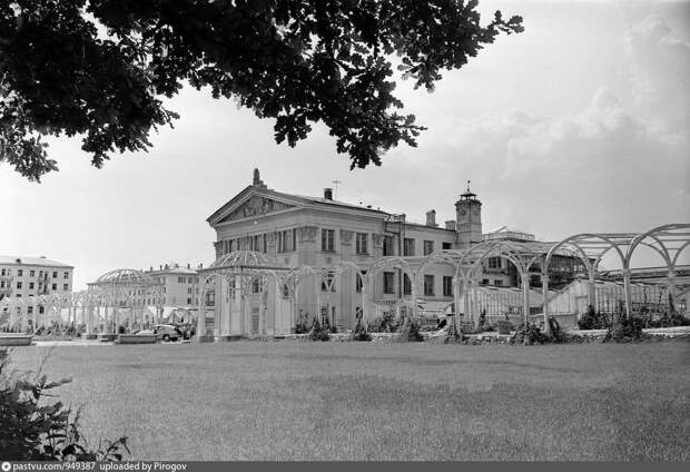 Фондовая оранжерея, 1958-1961.
