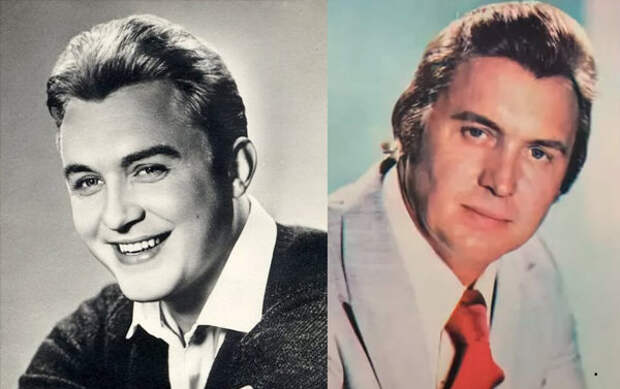 Эдуард Изотов в молодости и зрелые годы