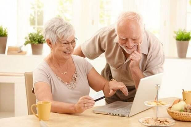 В России пенсионеры смогут сказать «спасибо» интернету