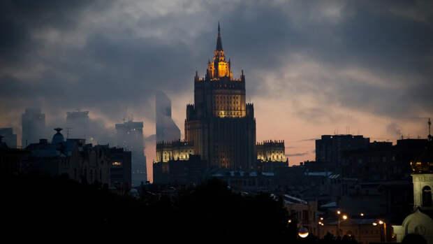 В МИД РФ сообщили о высылке задержанного украинского консула