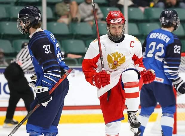 Дотерпели! Сборная России одолела финнов и вышла в финал ЮЧМ.