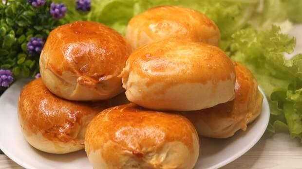 "Пирожки ""Минутки"" из Чудо теста! пирожки с картошкой, рецепт, видео рецепт, видео, длиннопост"