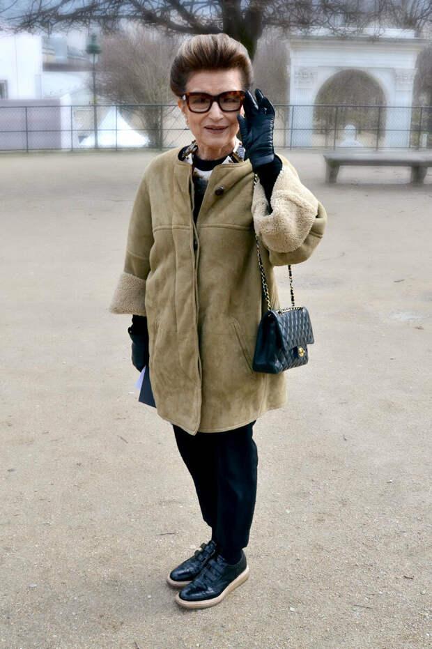 Сама элегантность! Невероятные образы 80-летней модницы, которые покоряют всех