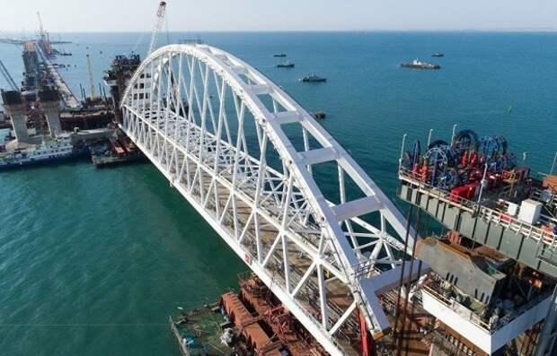 Украине не дает покоя Крымский мост!