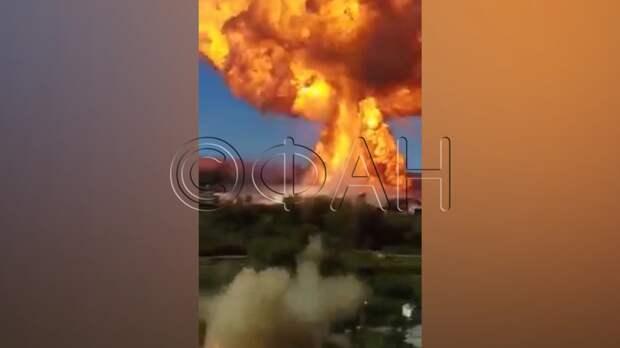 Спасатели локализовали пожар на новосибирской АЗС