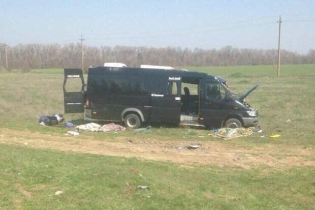 Семьи погибших пассажиров в микроавтобусе в Крыму получат деньги