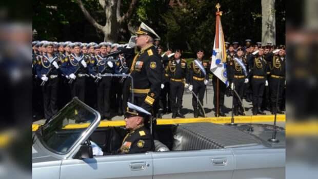 Генеральная репетиция парада ко Дню Победы прошла в Севастополе