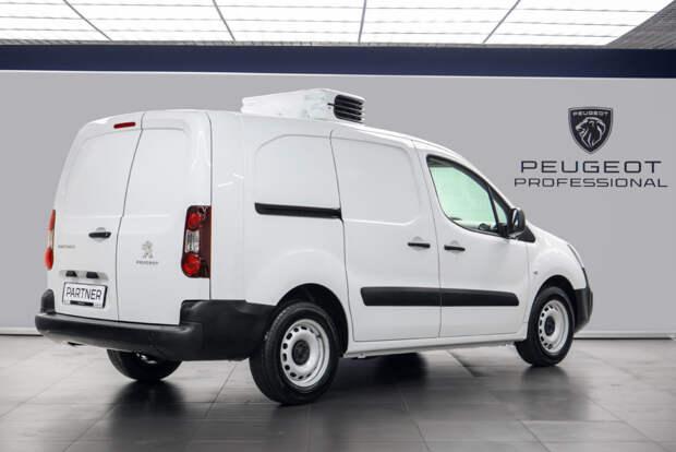 Российский Peugeot Partner стал холодильником на колесах