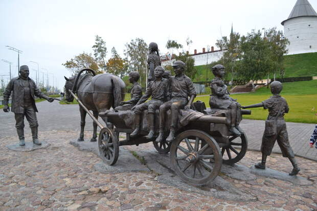 Памятник Асгату Галимзянову.