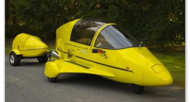 Необычный мотоцикл — Pulse Autocycle