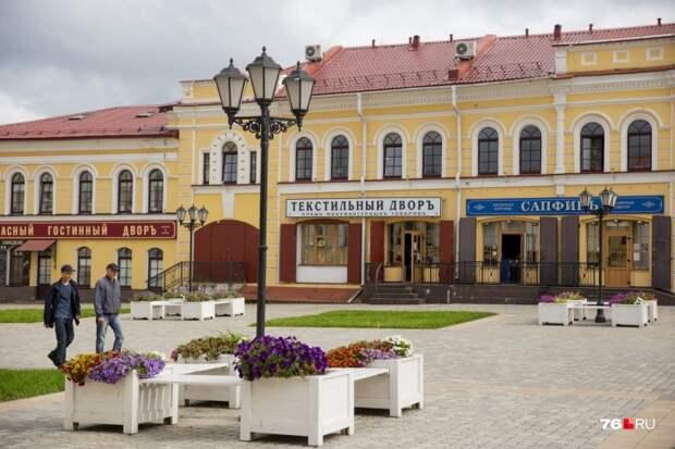 Обновлённые вывески органично вписались в облик центра города