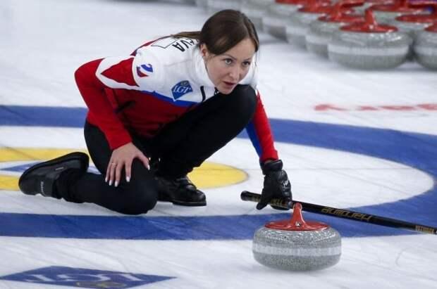 Российские керлингистки вышли в финал чемпионата мира в Канаде