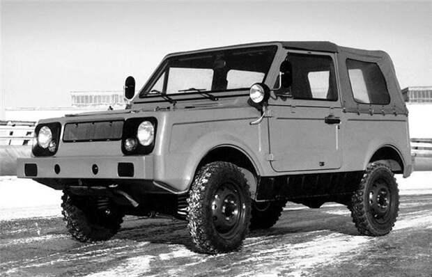 Автомобили ВАЗ, которые не увидели свет СССР, авто, ваз, прикол, прототип, факты