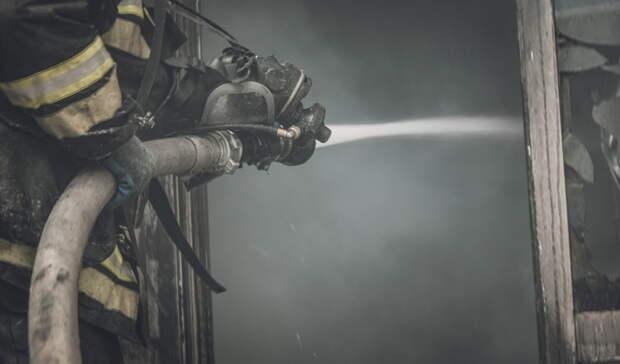 Ночью в Бузулуке горел жилой дом