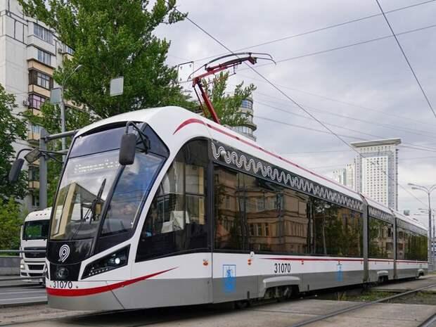 Движение трамваев на Живописной и Тимирязевской улицах восстановлено