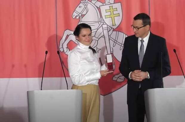 Эксперты обсуждают приём Тихановской в Польше в качестве «президента Беларуси»